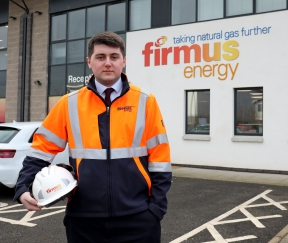 firmus energy Engineering Placement Student - Dylan Carr