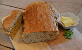 Image:  Grain Free Paleo Loaf - firmus energy recipe