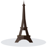 Image: eiffel tower graphic