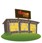 Image: firmus energy building on a hill