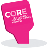 Image: Core logo. The standard for responsible business
