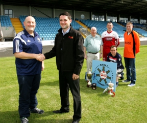 Image: firmus energy sponsorship of Ballymena Saturday morning league