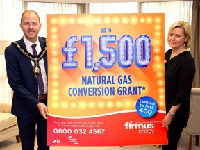 Image: firmus energy £1,500 natural gas conversion launch