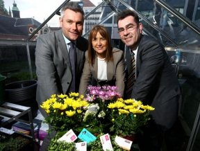 Image: Spring NI Chamber networking conference with firmus energy