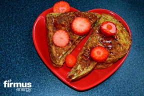 Image: valentine french toast recipe firmus energy