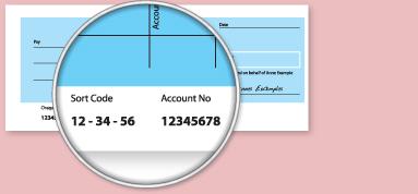 bank sort code uk 60-13-12