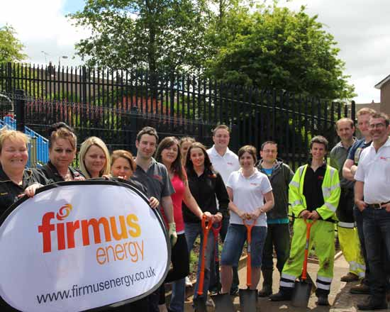 Image: firmus energy Cullybackey Warming Communities