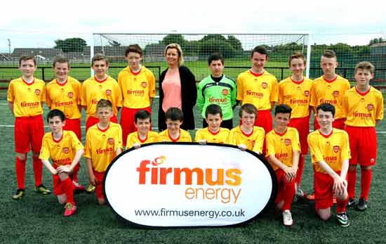 Image: firmus energy Mid Ulster Youth league