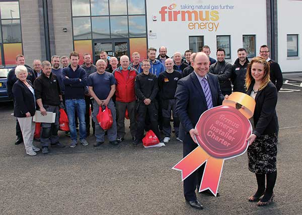Image: firmus energy installer charter launch